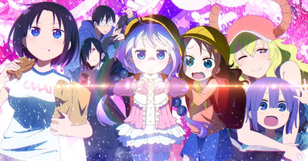 Miss Kobayashi's Dragon Maid Season 2 Poster