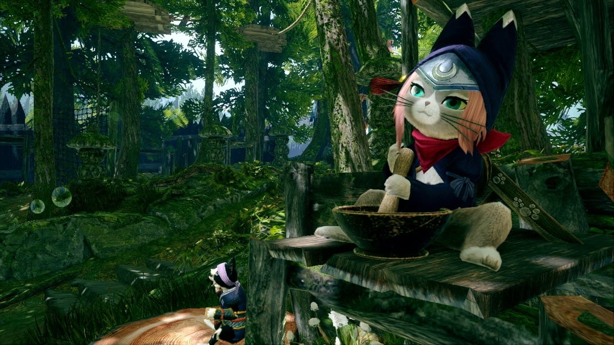 monster hunter rise palico new cropped hed