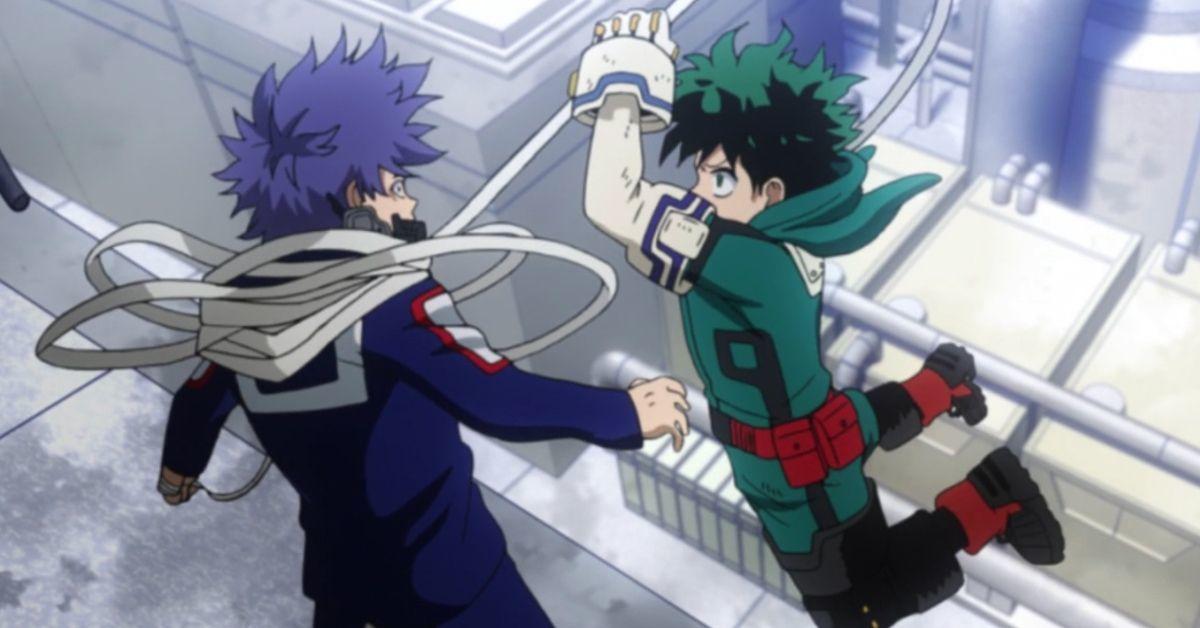 My Hero Academia Izuku Shinso Rematch Winner Season 5 Episode 99
