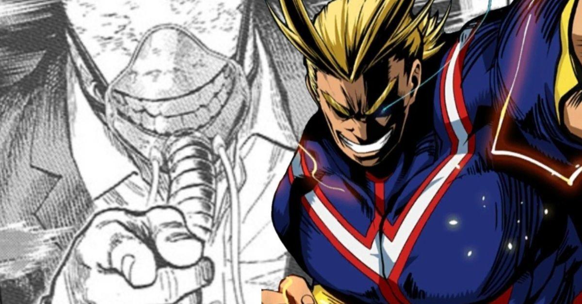 My Hero Academia Manga 316 Spoilers All For One All Might Deku Trolling