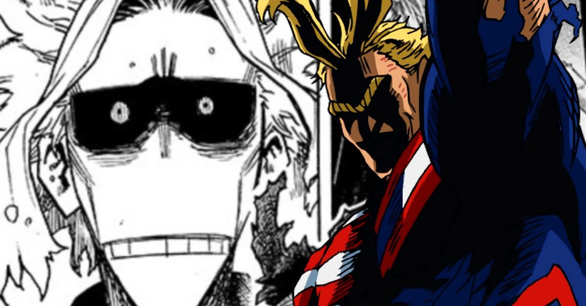 My Hero Academia Manga Spoilers All Might Izuku Heartbreaking Scene 317