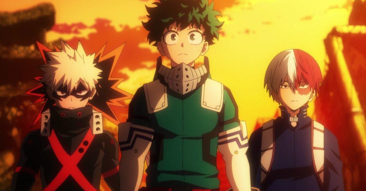 My Hero Academia Saison 5 Deku Todoroki Bakugo