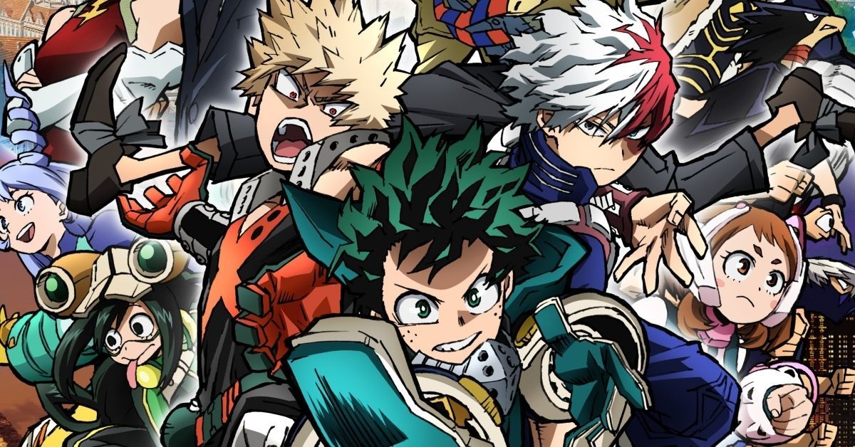 My Hero Academia World Heroes Mission Movie Poster
