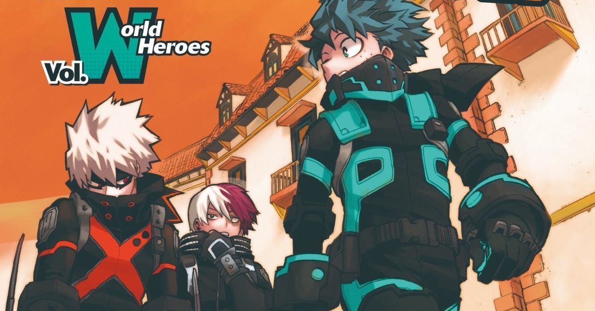My Hero Academia World Heroes Mission Tie-In Manga