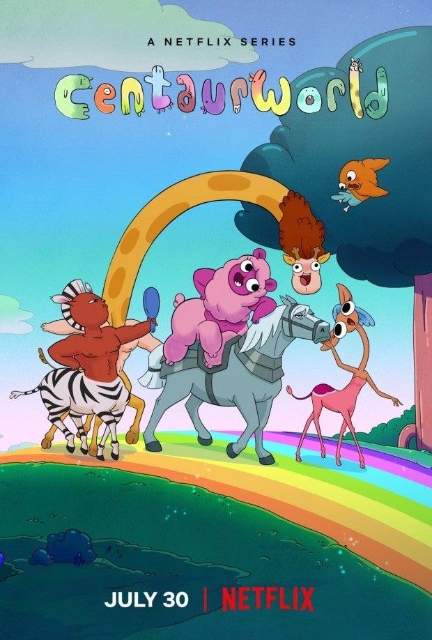 Netflix Centaurworld Poster