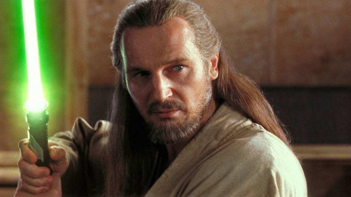 Obi-Wan Kenobi Series Qui-Gon Jinn Liam Neeson Star Wars