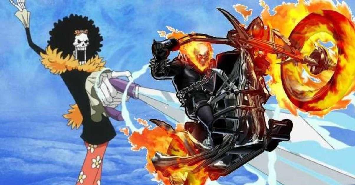 One Piece Ghost Rider Skeleton Crew