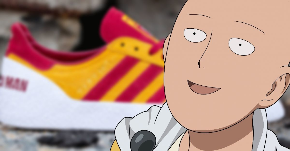 One-Punch Man Adidas Bait Sneakers Anime Shoes Collaboration