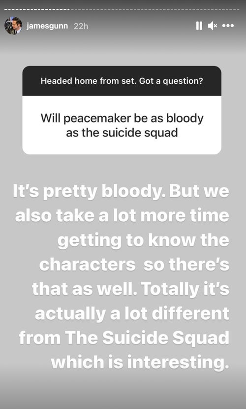 peacemaker the suicide squad james gunn
