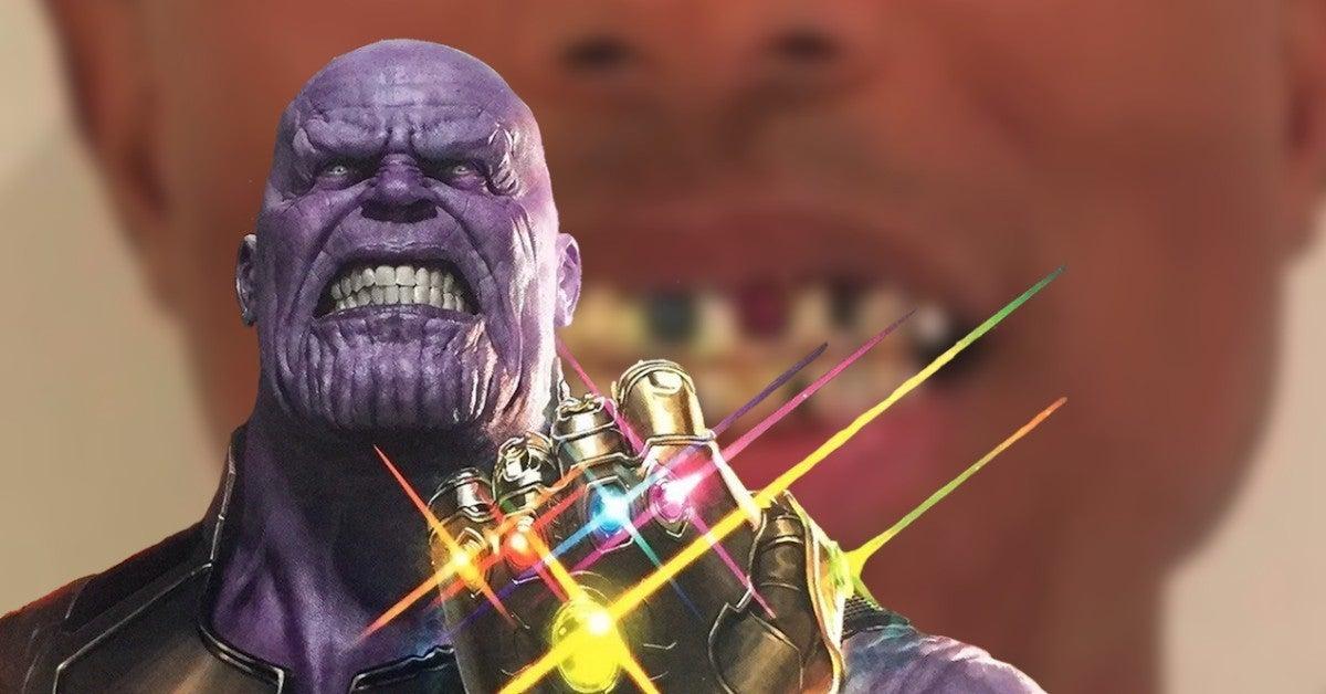 Pharrell Williams Grill Marvel Infinity Stones Thanos