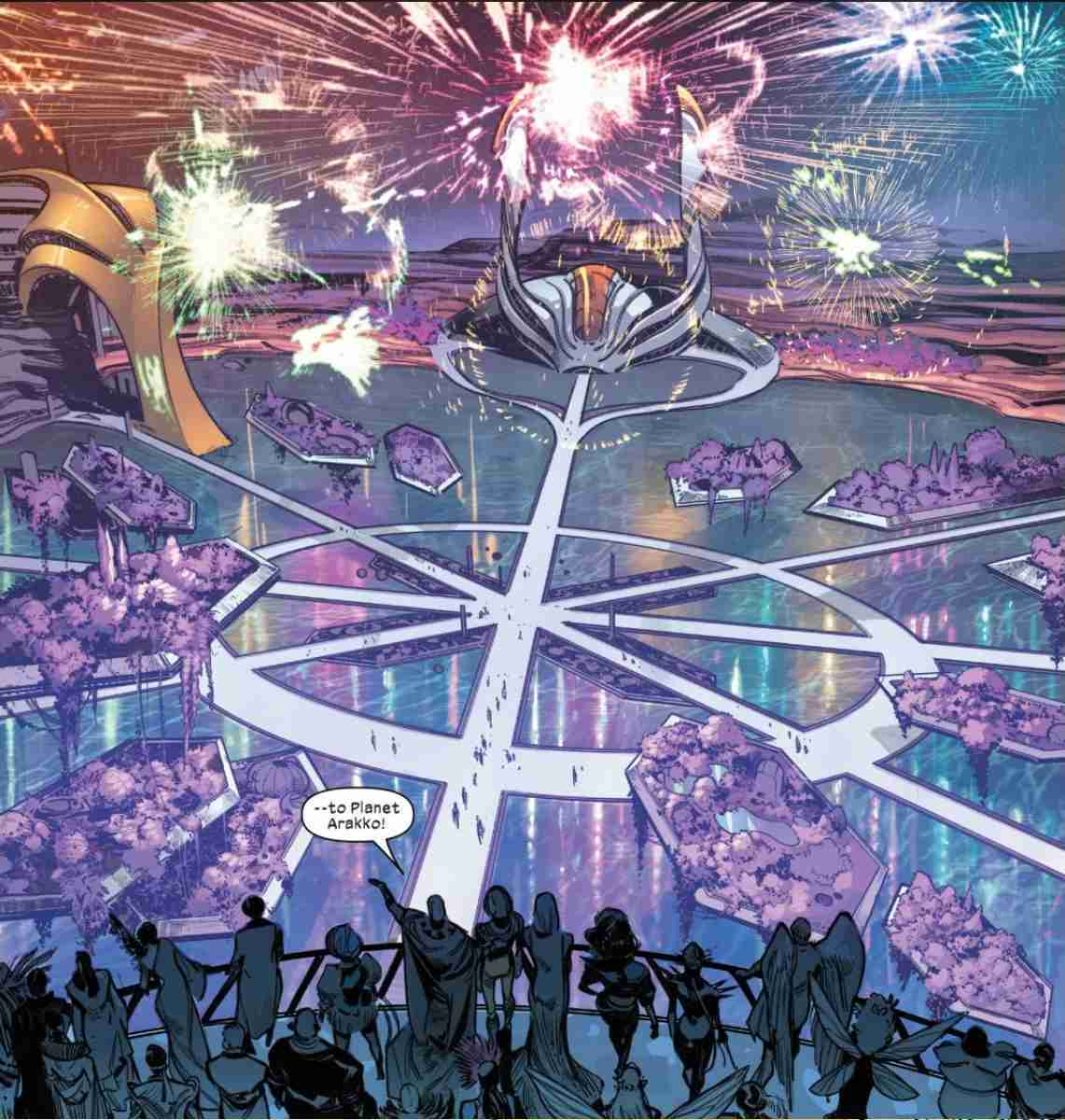 Planet Arakko X-Men Marvel