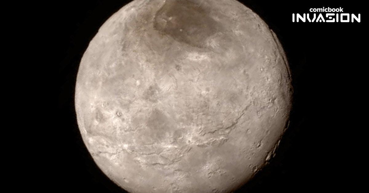 pluto satellite shot