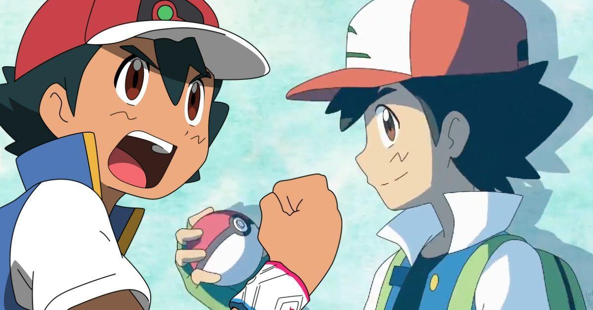 Pokemon Journeys Ash Classic Designs New Anime Style Viral Art