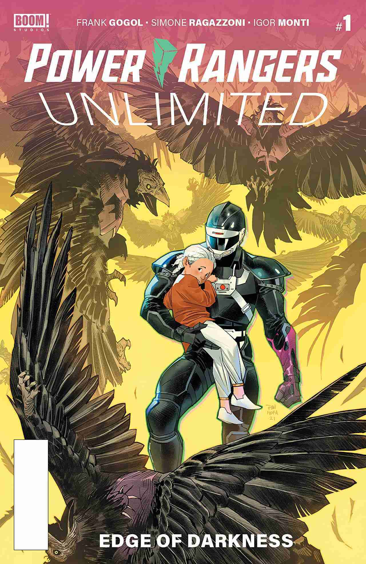 Power Rangers Unlimited Edge of Darkness #1
