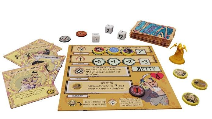Rat-Queens-To-The-Slaughter-Kickstarter-Betty-Player-Board-1