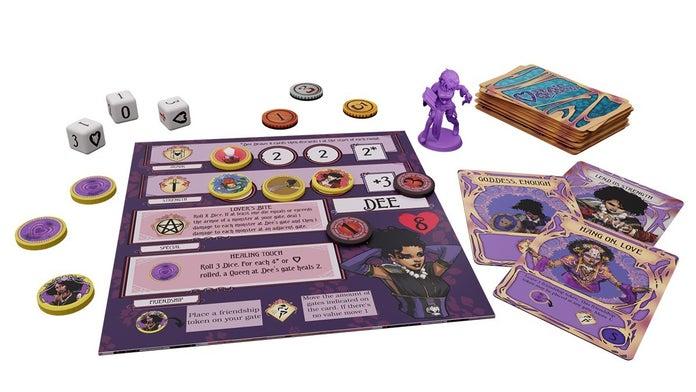 Rat-Queens-To-The-Slaughter-Kickstarter-Dee-Player-Board