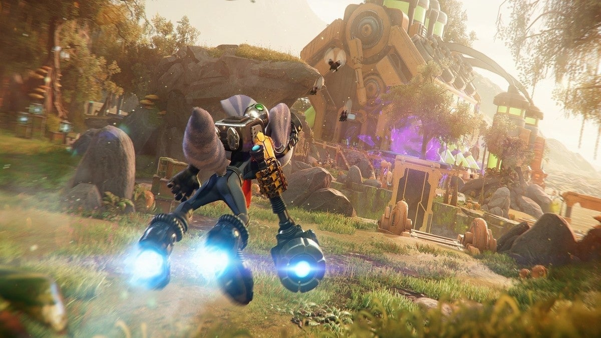 Ratchet and Clank Rift Apart Hover Boots