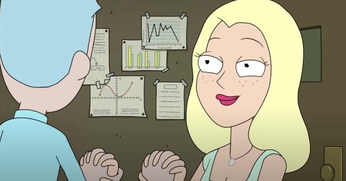 Rick and Morty Diane Sanchez Adult Swim