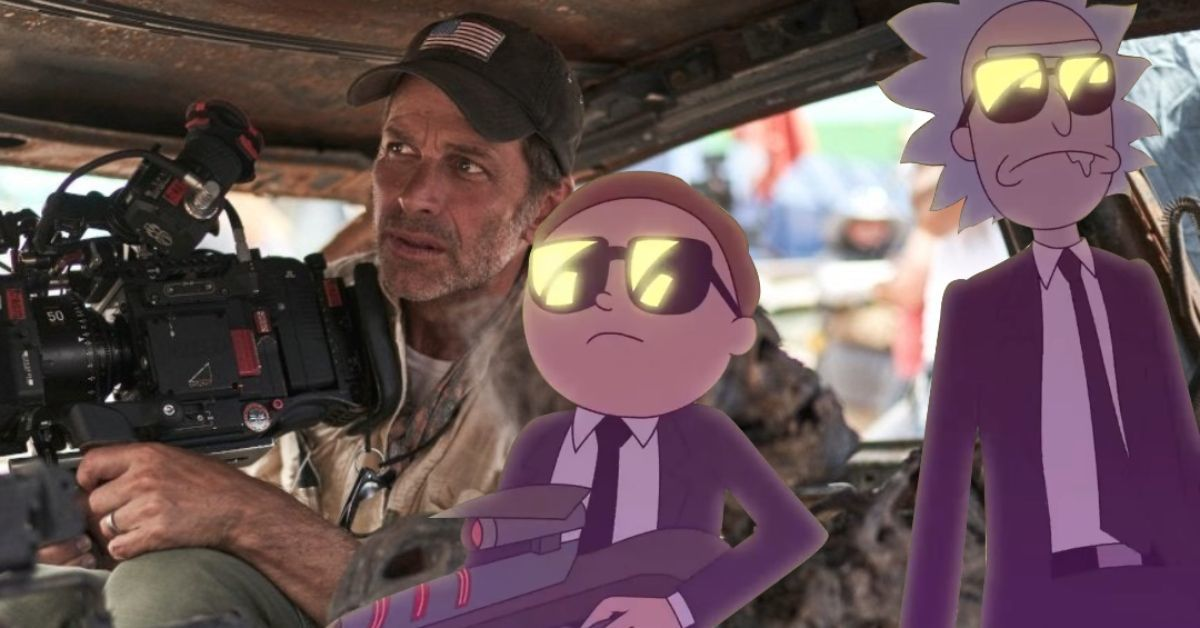 Rick and Morty Movie Zack Snyder Director Adult Swim