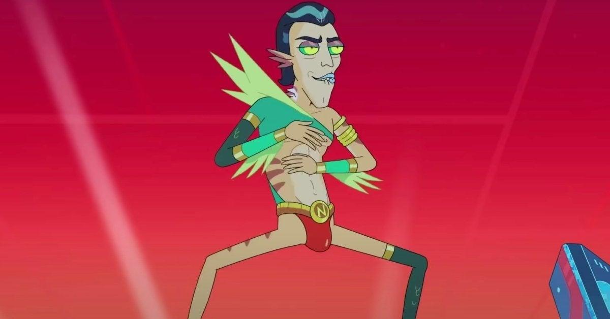 Rick and Morty Season 5 Mr Nimbus Rick's Nemesis