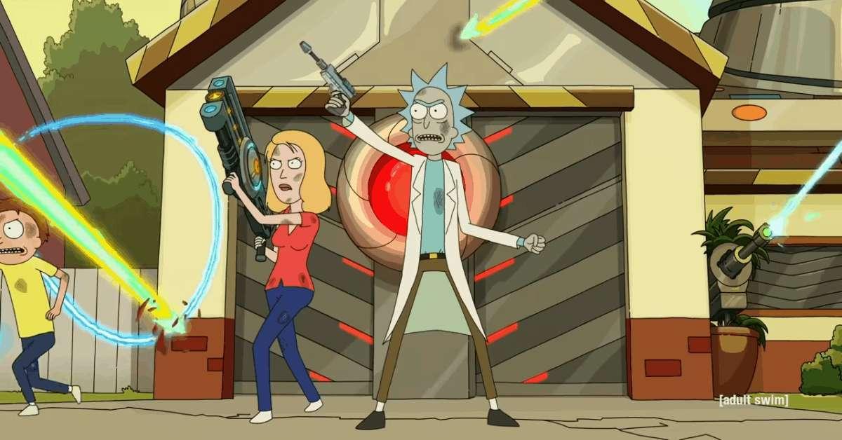Rick and Morty Season Five