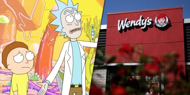 rick and morty wendys