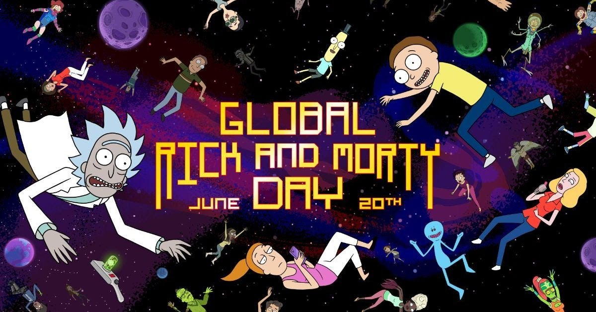 rick morty day