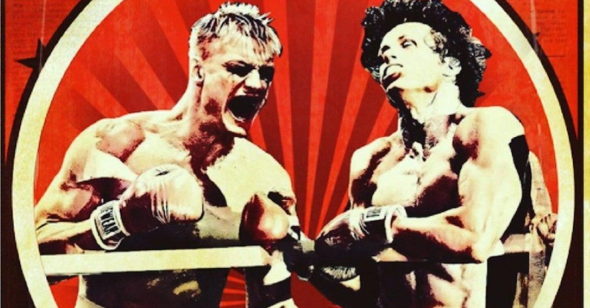 Rocky vs Dragon IV Directors Cut Release Date Poster