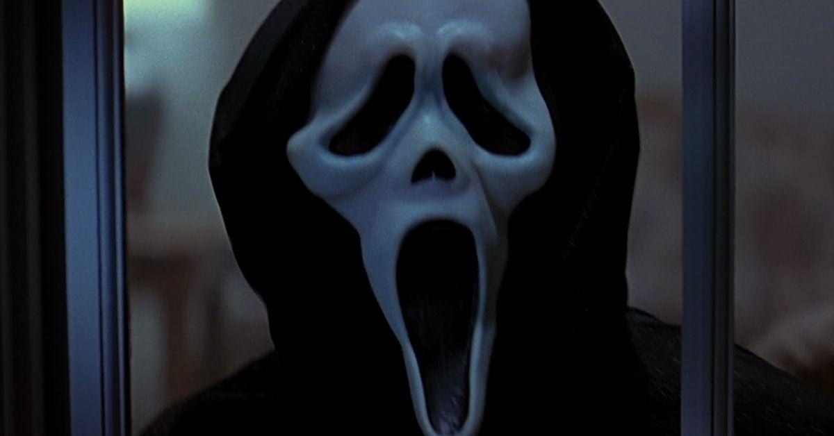 scream movie ghostface five