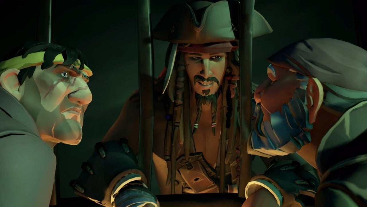 Sea of Thieves: A Pirate's Life Revealed Featuring Jack Sparrow