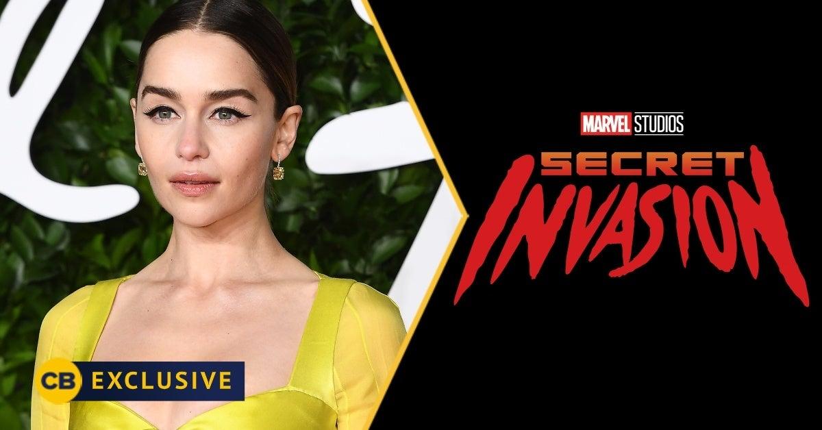 secret invasion emilia clarke interview exclusive