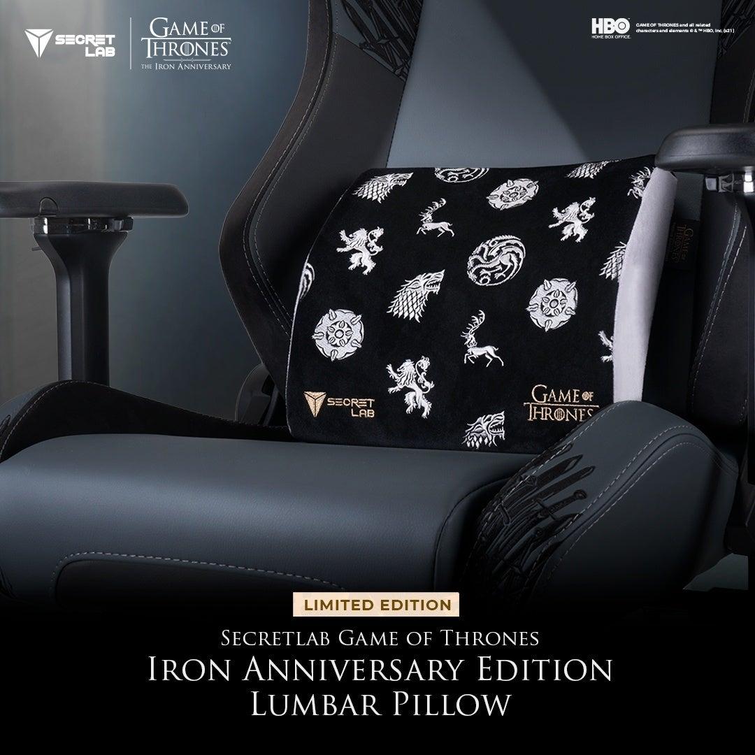 Secretlab Game of Thrones Iron Anniversary Edition2