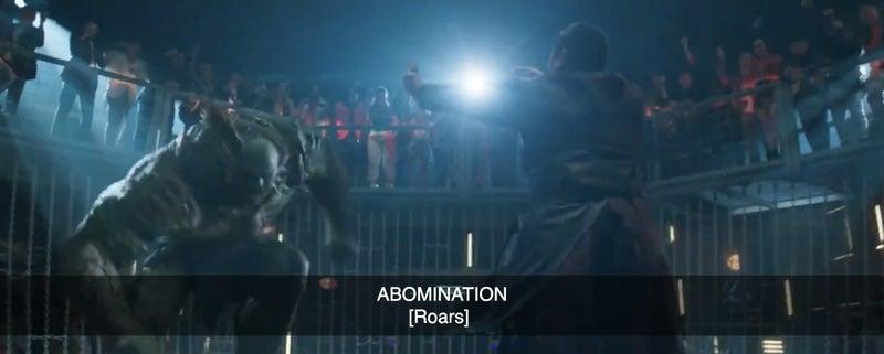 shang chi trailer abomination