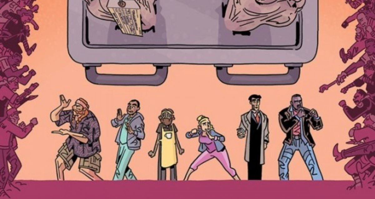 Six Sidekicks of Trigger Keaton #1 Review - Cover