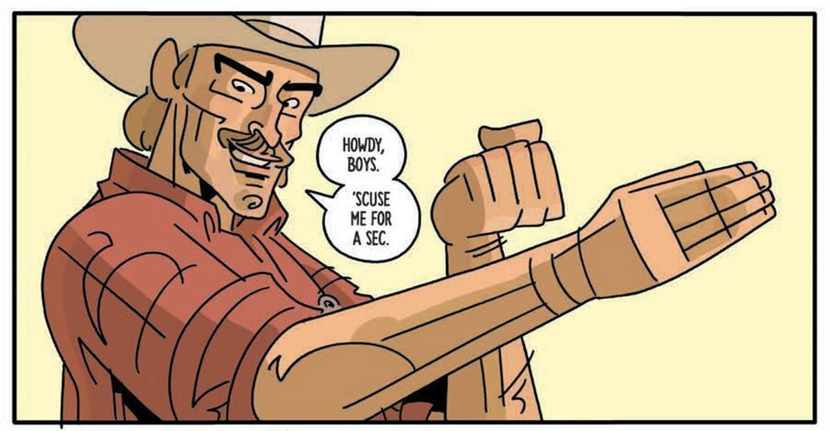 Six Sidekicks of Trigger Keaton #1 Review - Kung Fu
