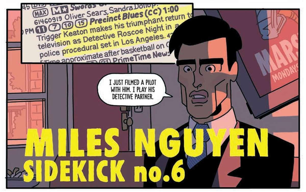 Six Sidekicks of Trigger Keaton #1 Review - Miles Nguyen