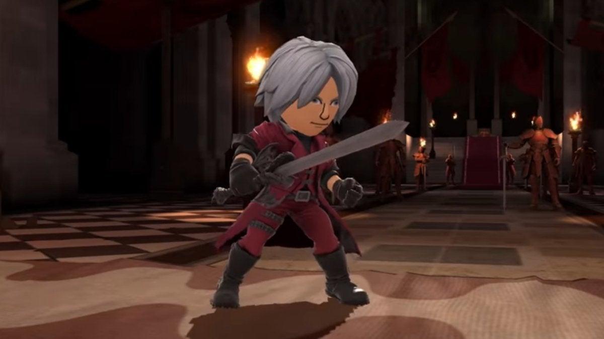 Smash Bros Dante