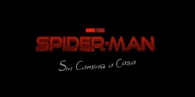 Spider-Man 3 No Way Home Spanish Teaser Mutiverse Glitch Effect