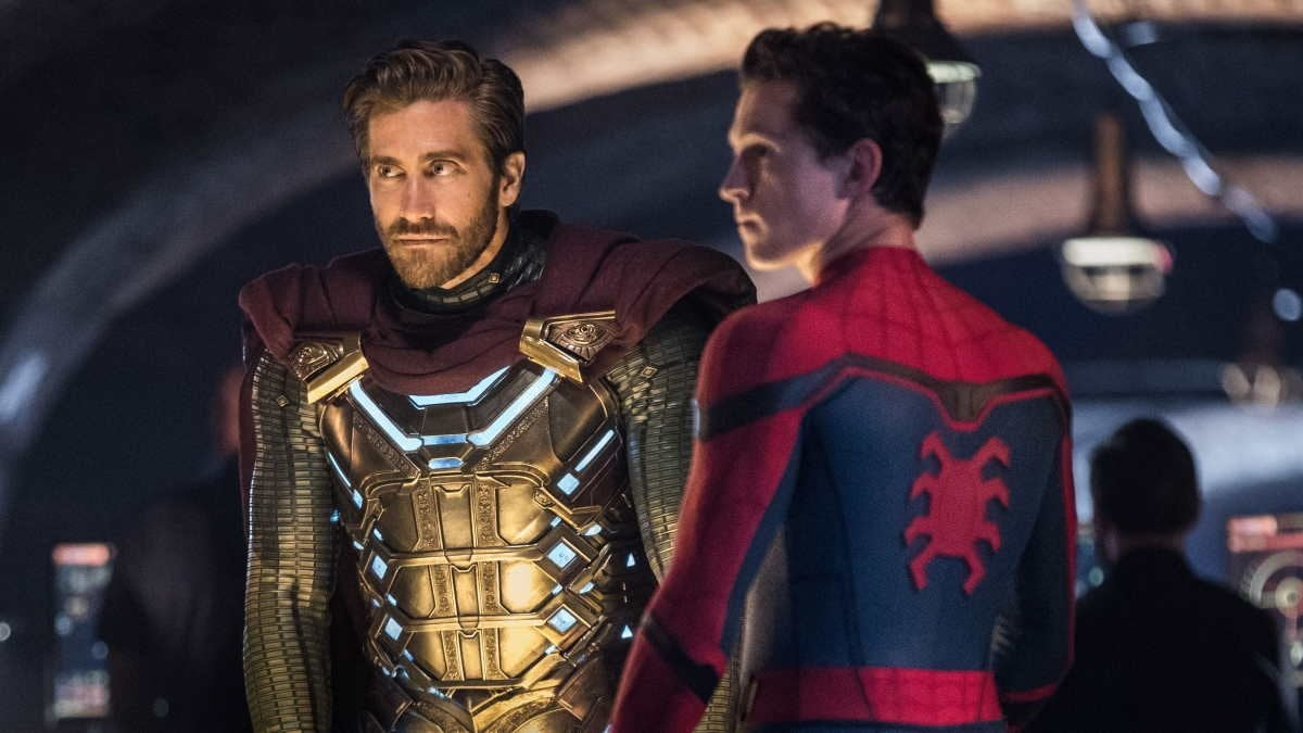 Spider-Man Far From Home Mysterio Jake Gyllenhaal Tom Holland