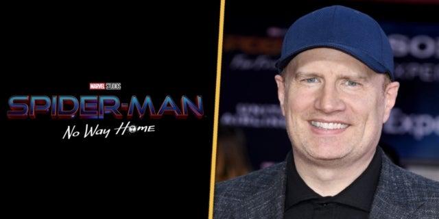 Spider-Man No Way Home Marvel Studios Kevin Feige