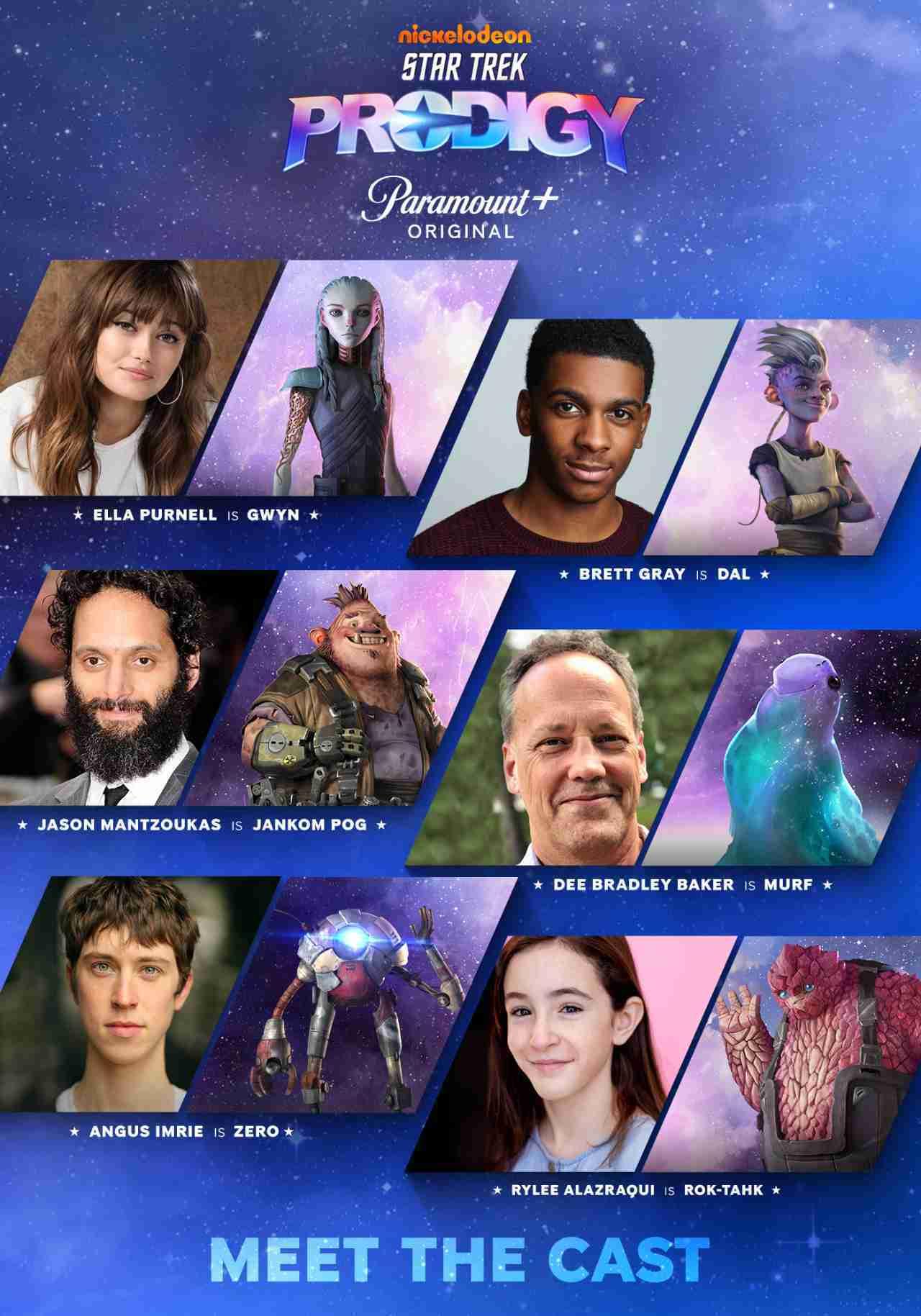 Star Trek Prodigy Cast