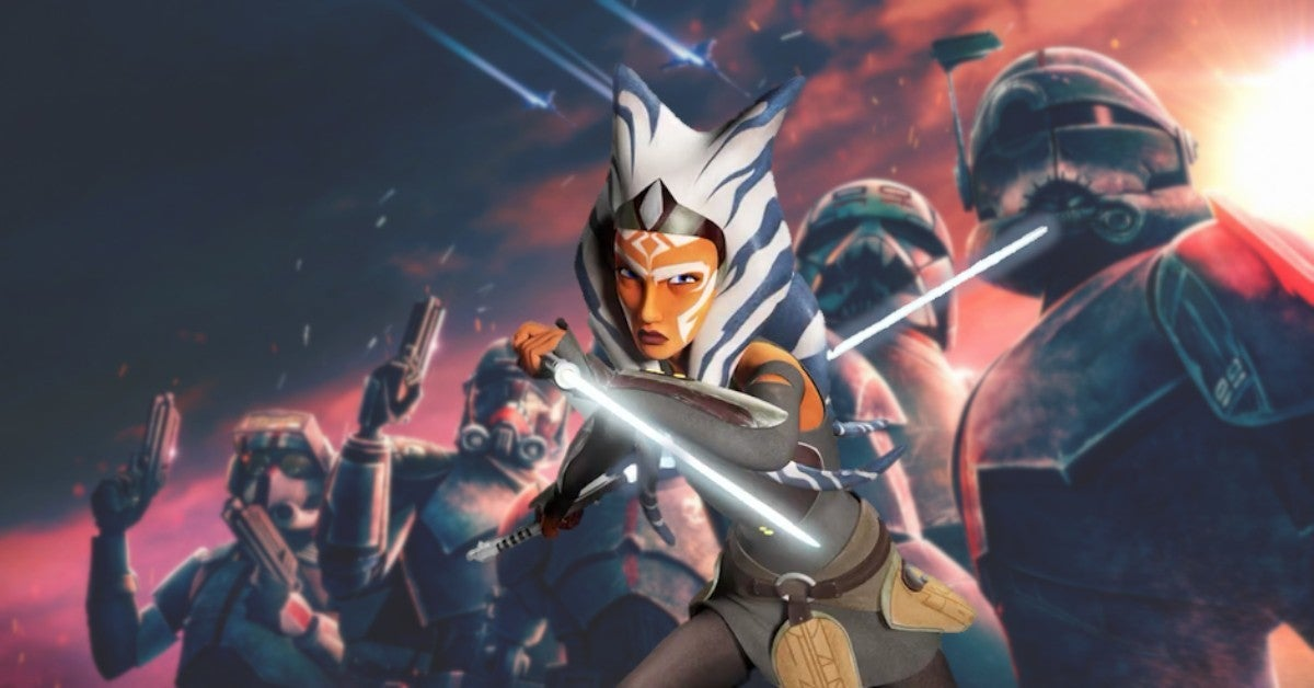 Star Wars Bad Batch Ahsoka Tano Captain Rex Episode 7 preview