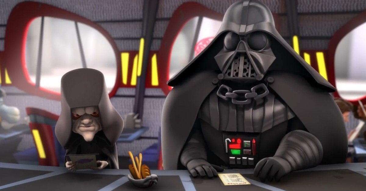 star wars detours emperor palaptine darth vader