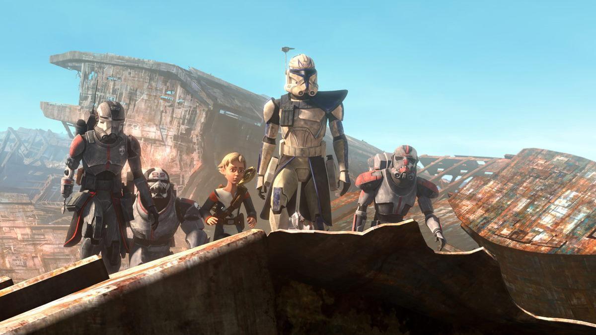 Star Wars The Bad Batch Episode 7 Clone Wars Rex