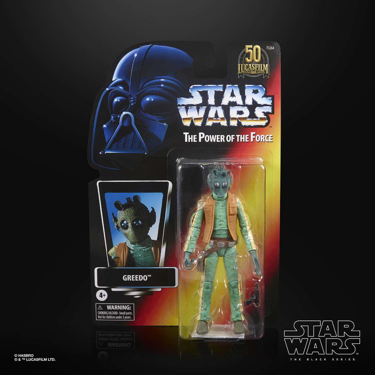 STAR WARS THE BLACK SERIES LUCASFILM 50TH ANNIVERSARY 6-INCH GREEDO Figure - in pck (1)