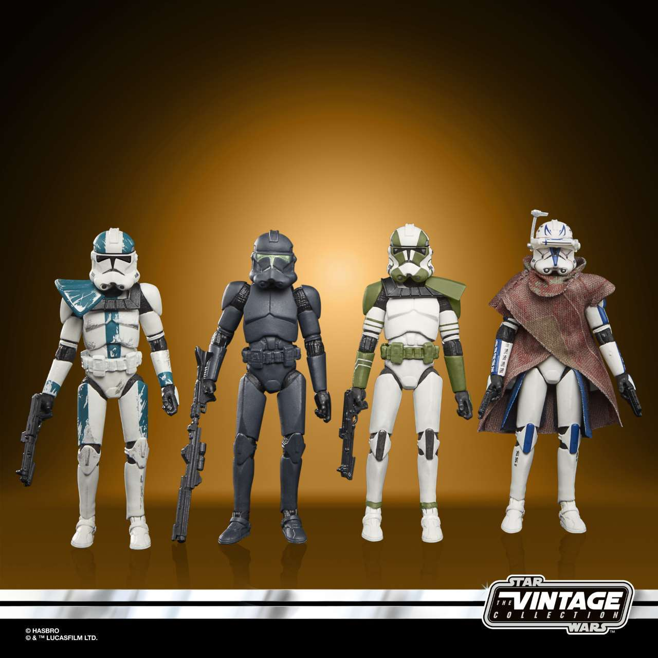 STAR WARS THE VINTAGE COLLECTION STAR WARS THE BAD BATCH Figure 4-Pack - oop (1)