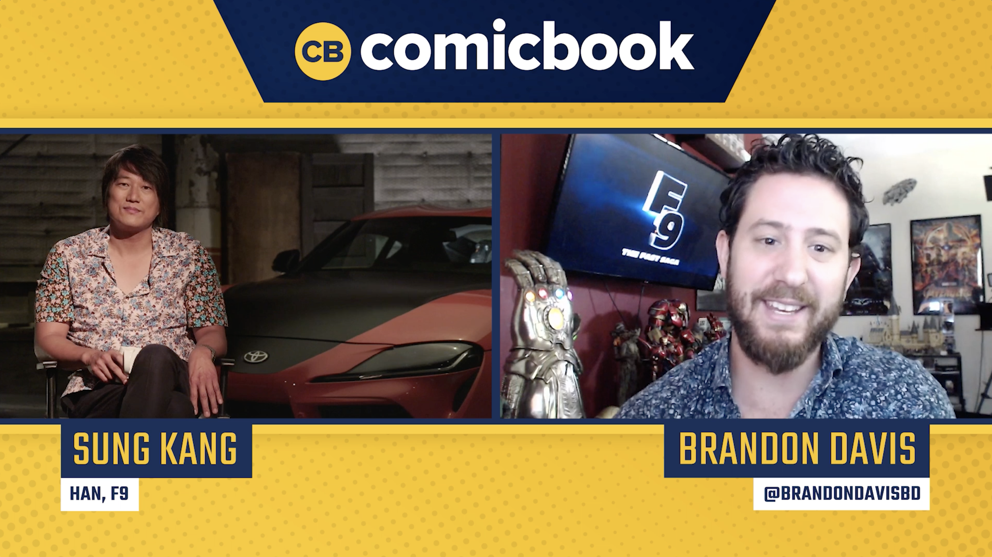 Sung Kang Talks Fast 9 - Exclusive Comicbook.com Interview