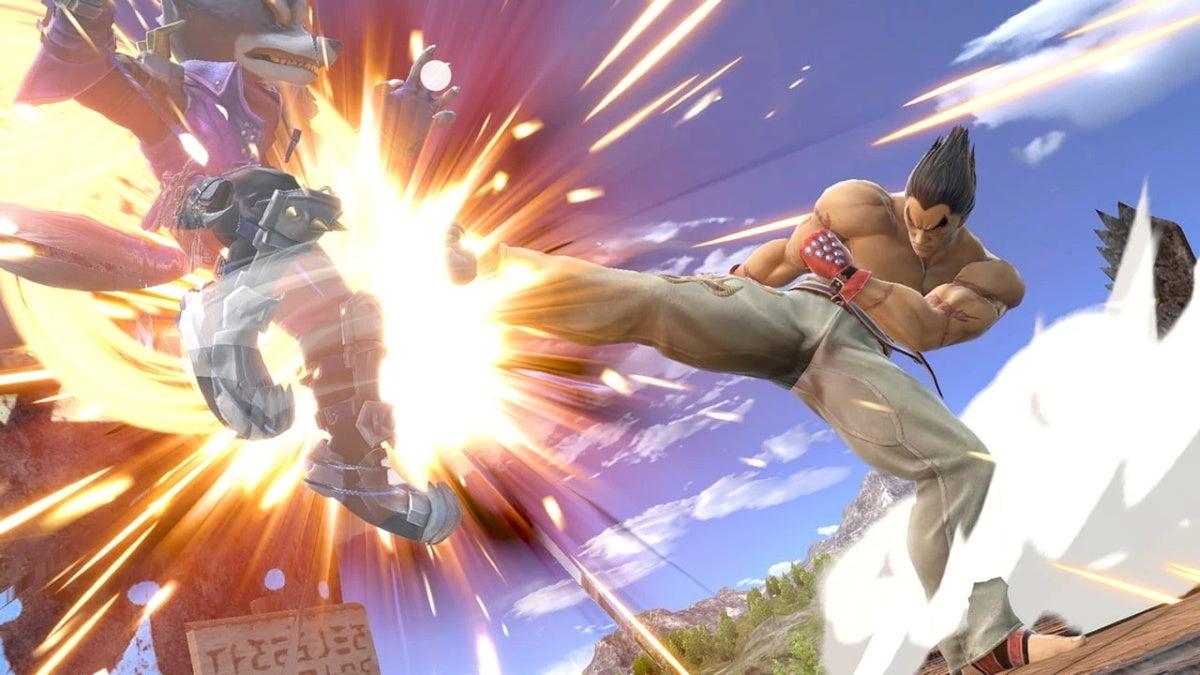 super smash bros ultimate kazuya 2 new cropped hed