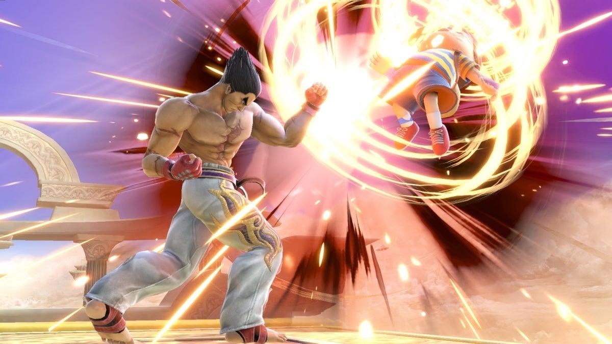 super smash bros ultimate kazuya release new cropped hed