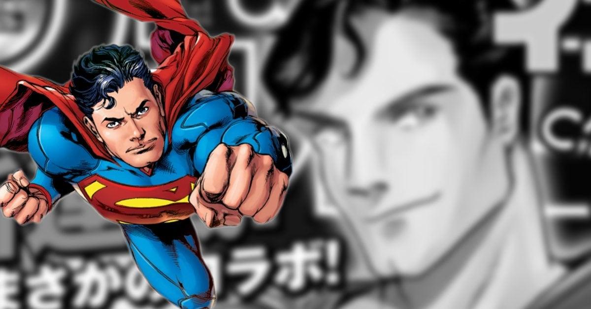 superman manga